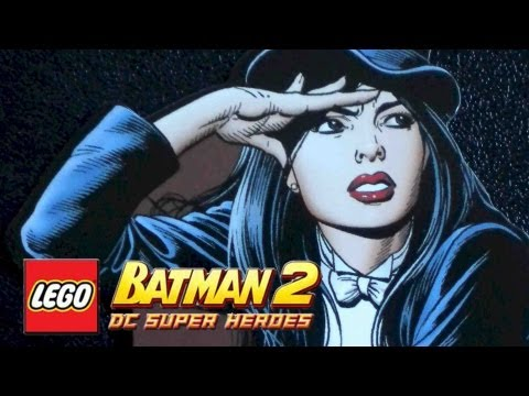 LEGO Batman 2 : DC Superheroes DLC HERO PACK - Zatanna Gameplay