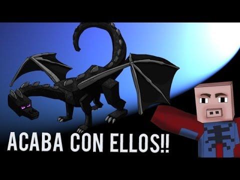 DRAGÓN, ACABA CON ELLOS! | MINECRAFT