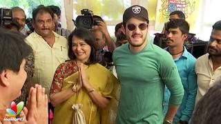 Nani & Akhil Akkineni @ NRI - Nayana Rara Intiki Movie Launch | Indiaglitz Telugu - IGTELUGU