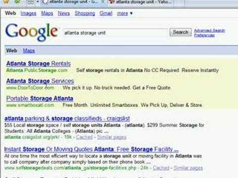 Internet Marketing For Self Storage Operators Part 1