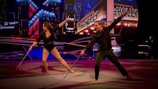 Ian 'H' Watkins' Rhythmic Performance to 'Don't Rain On My Parade' - Tumble: Episode 4 - BBC One - BBC