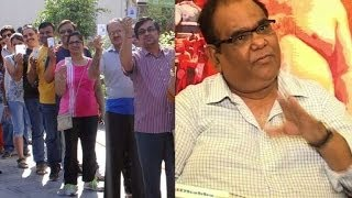 Satish Kaushik urges all to vote  - Bollywood Country Videos - BOLLYWOODCOUNTRY