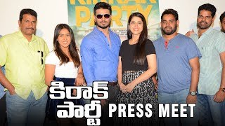 Kirrak Party Press Meet | Nikhil Siddharth | Samyuktha | Simran Pareenja | TFPC - TFPC