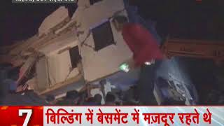 News 100: Under-construction building falls on another in Greater Noida, UP - ZEENEWS