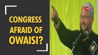 Taal Thok Ke: Is Congress afraid of Asaduddin Owaisi? Watch debate - ZEENEWS