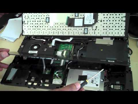 Ihelpers hp probook 4515s removing and replacing hard drive or memory