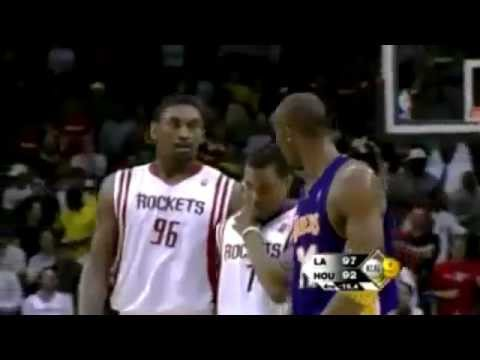 NBA  Metta World Peace  (Ron Artest) FIGHT  -NBA BAD BOY-  PART.2