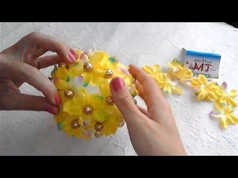 Как сделать новогодний шар, своими руками