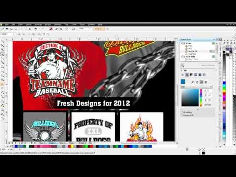 CorelDRAW X6 new Object Styles tutorial