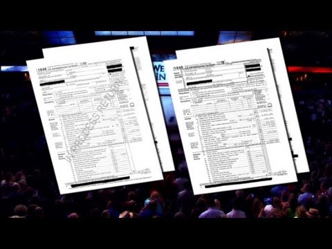 News: Romney Tax Returns