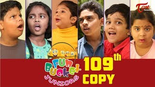 Fun Bucket JUNIORS | Episode 109 | Kids Funny Videos | Comedy Web Series | By Nagendra K | TeluguOne - TELUGUONE