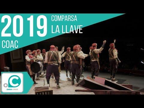 La agrupación La llave llega al COAC 2019 en la modalidad de Comparsas. En años anteriores (2018) concursaron en el Teatro Falla como Se buscan valientes, consiguiendo una clasificación en el concurso de Preliminares.