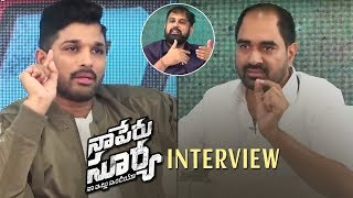 Director Krish Interview With Naa Peru Surya Team | Allu Arjun | TFPC - TFPC