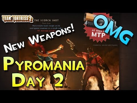 TF2 - New Weapons! Pocket Pistol, Beggars Bazooka, Cleaner's Carbine, Hitmans, Scorch Shot