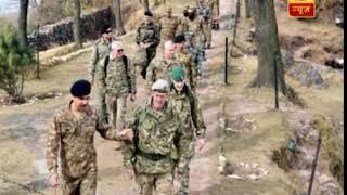 Pak takes defence attaches of six countries on LoC tour to show India's act of barbarity - ABPNEWSTV