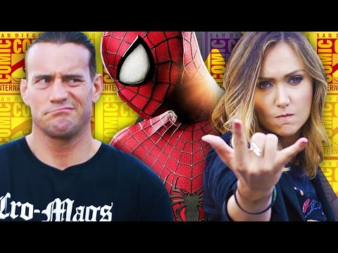 Big Changes to Spider-Man 3 + CM Punk at Comic Con - Nerdist News @SDCC
