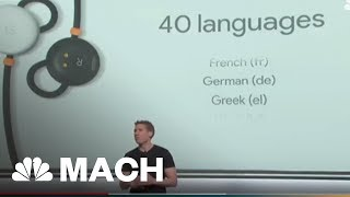 This Week In Tech News: Earbuds That Can Translate 40 Languages And A Pizza Parka | Mach | NBC News - NBCNEWS