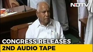 Congress Releases More Tapes, Says Yeddyurappa Tried To Poach Lawmaker - NDTV