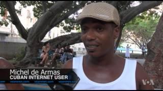 Cubans Embrace New Internet Connectivity Options - VOAVIDEO