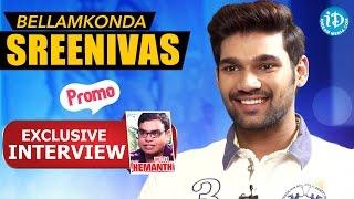 Speedunnodu Movie    Bellamkonda Sreenivas Exclusive Interview - Promo    Talking Movies with iDream - IDREAMMOVIES