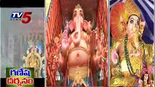 Vizag Ganesh Chaturthi | Clay Ganesha Idols | 79 feet Ganesh @ Gajuwaka : TV5 News - TV5NEWSCHANNEL