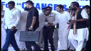 AICC Chief Rahul Gandhi Interaction With Students Live | Shamshabad | iNews - INEWS