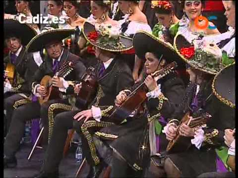 Sesión de Preliminares, la agrupación Cantina Las manitas actúa hoy en la modalidad de Coros.