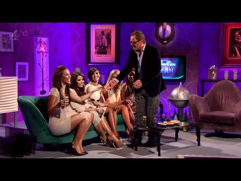 The Saturdays - Alan Carr Chatty Man Invterview (Friday 27th April 2012) 1080p HD