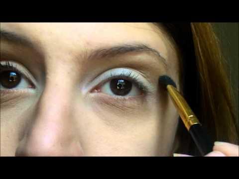 Tutorial: Maquiagem para olhos fundos / como esconder as olheiras