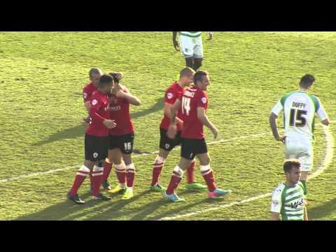 Fantastic Solo Goal by Dale Jennings for Barnsley v Yeovil