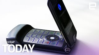 Motorola is reportedly reviving the RAZR as a foldable phone  | Engadget Today - ENGADGET