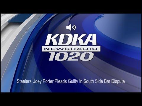 Steelers' Joey Porter Pleads Guilty In South Side Bar Dispute (Audio)