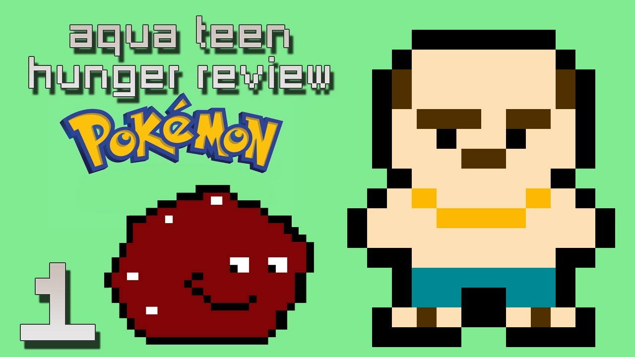 Aqua Teen Hunger Reviews - Pokemon