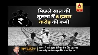 Master Stroke: Govt. makes a deduction of Rs 6000 crore for farmers in Budget 2018 - ABPNEWSTV