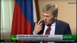 Skripal was of 'zero value' to Russia after spy swap, so why poison him now? – Kremlin spokesman - RUSSIATODAY