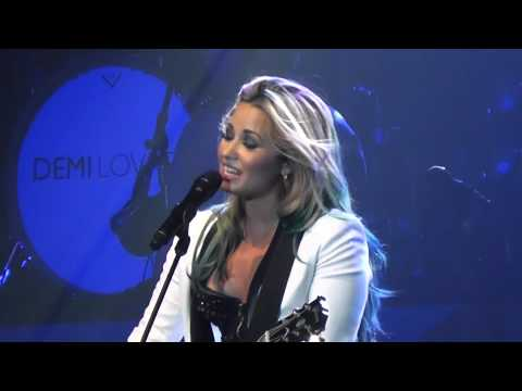 Demi Lovato Catch Me (with Adam Lambert mention) Endfest Sacramento 7-20-2012.MTS