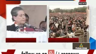 Delhi polls 2015: Sonia Gandhi addresses rally in Badarpur - ZEENEWS