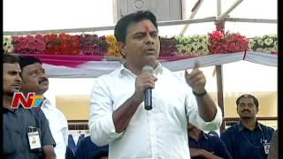 Minister KTR Speech at Double Bedroom House Inauguration at Jiyaguda || NTV - NTVTELUGUHD