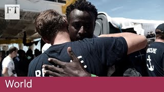 Migrant boats turned away by Italy arrive in Spain - FINANCIALTIMESVIDEOS