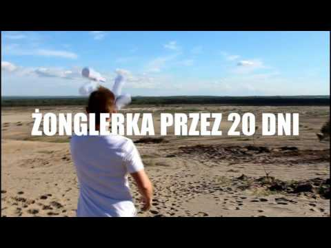 Żonglując przemierzy 420 km
