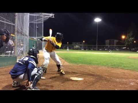 Nkosi Djehuti-Mes (2014) laced two outside pitches