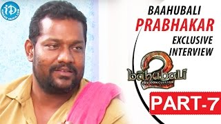 Baahubali Prabhakar Exclusive Interview Part #7 || Talking Movies With iDream - IDREAMMOVIES