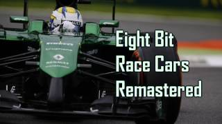Royalty Free :Eight Bit Race Cars Remastered