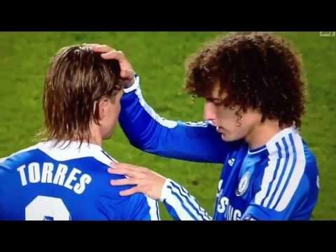 David Luiz Jugador Evangélico ora por Fernando Torres