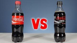 Coca Cola vs Coca Cola Zero Şeker Testi