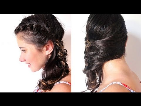 Penteado: Trança Lateral Embutida - Side Braid