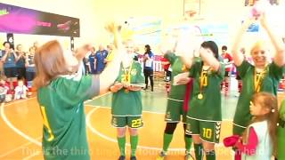Passionate soccer players in a small Lithuanian town of Keturvalakiai. - VOAVIDEO