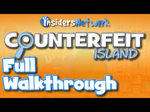 ★ Poptropica Counterfeit Island Full Walkthrough ★