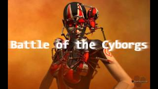 Royalty Free :Battle of the Cyborgs
