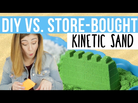 DIY Vs. Store-Bought Kinetic Sand